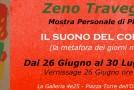 Zeno Travegan  Il suono del Colore – Galleria 4e25  – Spoleto – 26/06 – 30/07