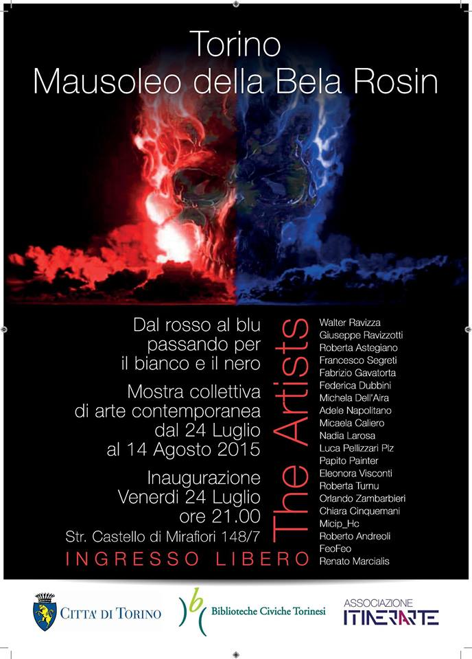 Itinerarte Torino mostra Mausoleo Bela Rosin