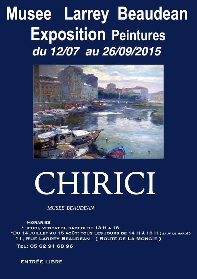 Riccardo Chirici Mostra Francia 2015