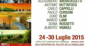 """""""Dal castello alle torri, rassegna di pittori toscani"""" – San Gimignano – 24/07 – 30/07"""