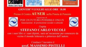 Stefano Carlo Vecoli – Incontro a Viareggio – 9 luglio