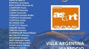 Asart – Artisti Scultori Associati di Pietrasanta – Villa Argentina Viareggio – 18/07 – 02/08