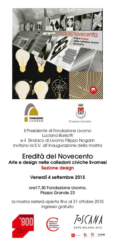 Fondazione Livorno mostra Design