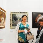 Lia Chiappi e Maria Giulia Broccardi Schelmi Fruttidoro 2015 Livorno galleria Il Melograno