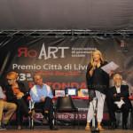 Paola Turio introduce la Premiazione