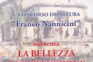 Rosanna Costa seconda classificata alla  quinta edizione del Premio Franco Nannicini