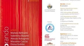 Alessio Bolognesi a Explorando – C9 | arte a corte a settembre – Rubiera – 26/09 – 25/10