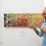 Christian Longo a Fruttidoro 2015 Livorno galleria Il Melograno