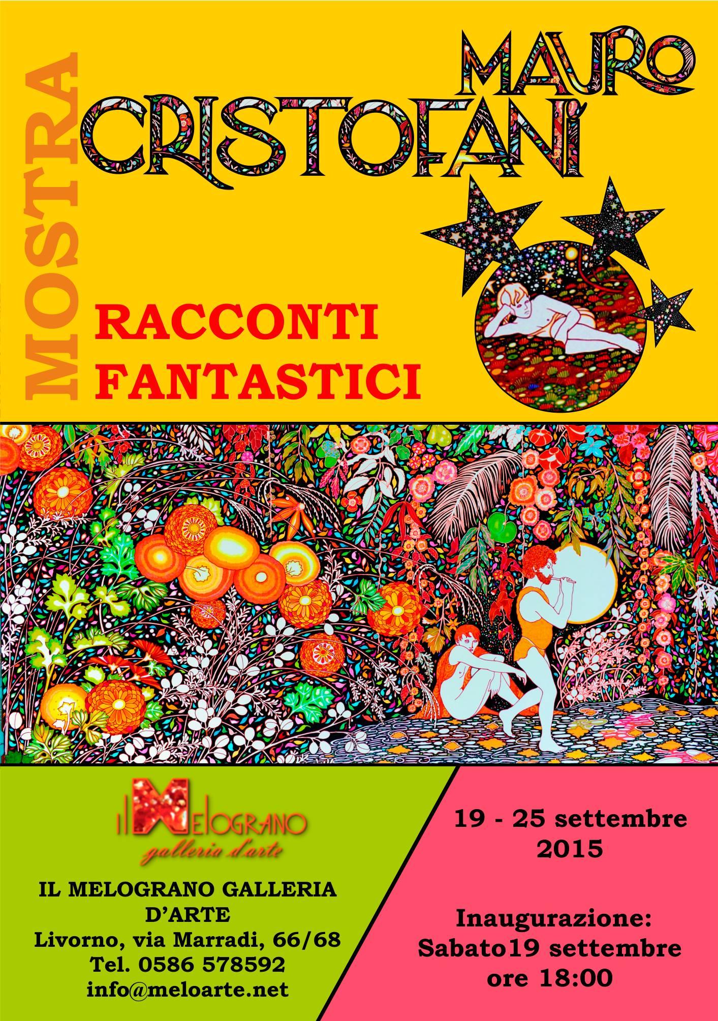 Mauro Cristofani Racconti fantastici Il Melograno Art gallery