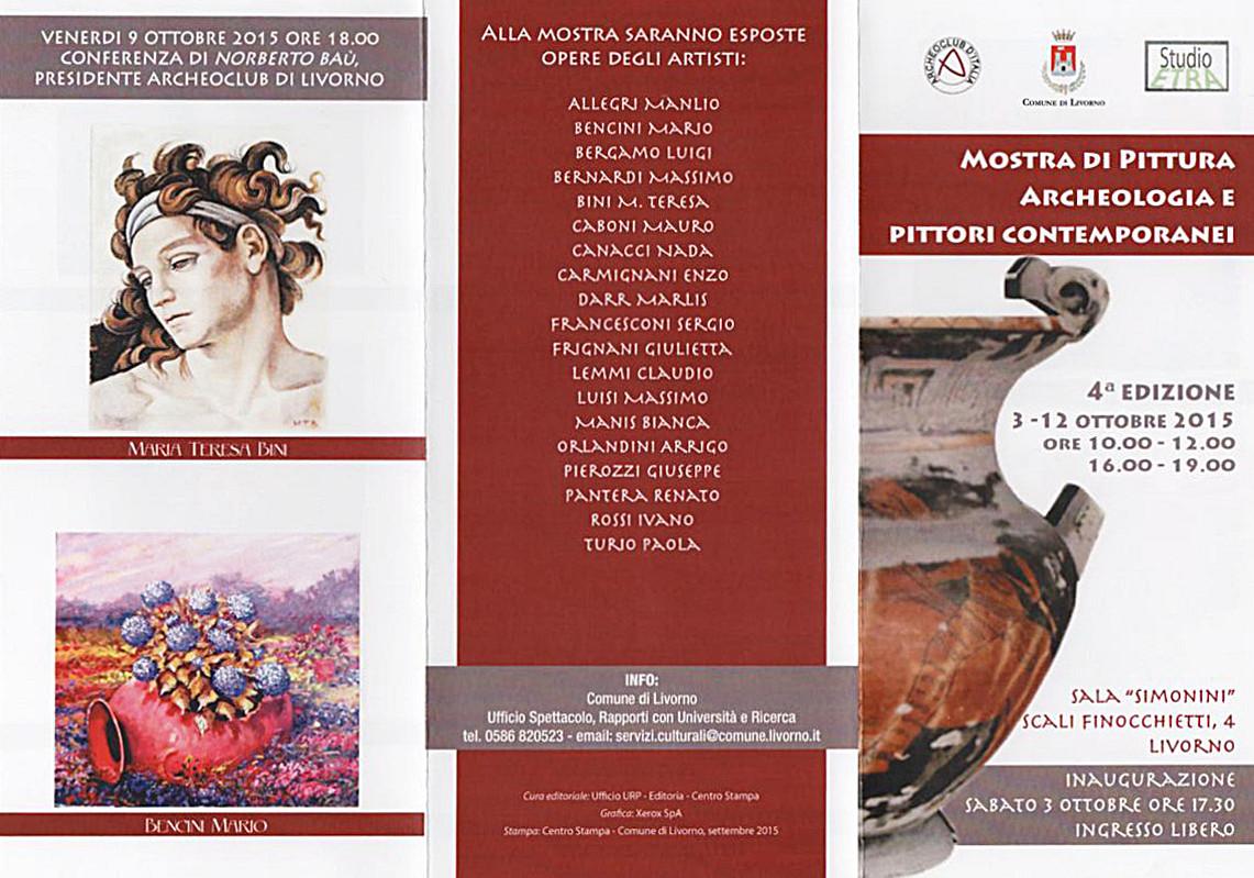 Mostra Archeoclub Livorno 2015