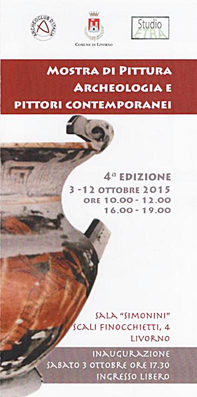 archeologia e pittori contemporanei Livorno