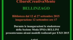 "Essere Natura ""Being Nature""  CibarsiCreativaMente  Bellinzago – 12/09 – 27/09"