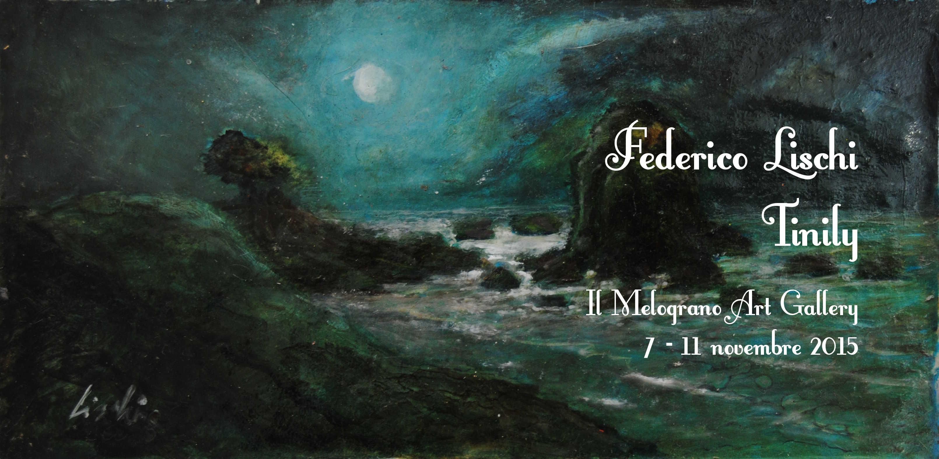 Federico Lischi Tinily Il Melograno mostra Livorno