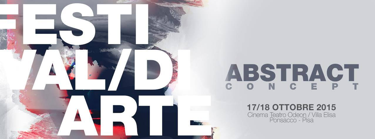 Festival arte Ponsacco Teatro Odeon Abstract concept