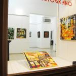 Marlis Darr e Mauro Caboni mostra Melograno Livorno (10)