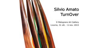 Silvio Amato – TurnOver –  Il Melograno Galleria d'Arte – Livorno – 31/10 – 06/11