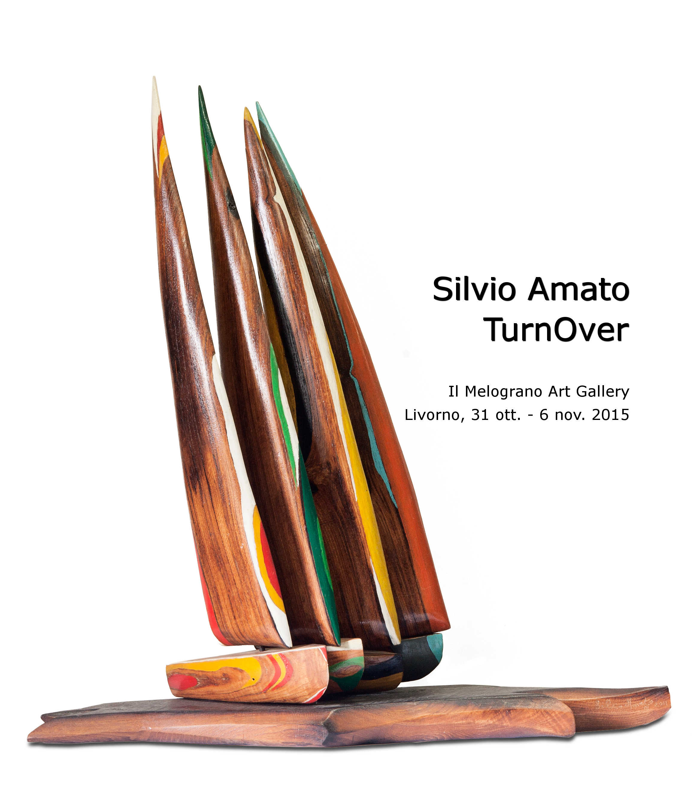 Silvio Amato Mostra Livorno Il Melograno Art Gallery