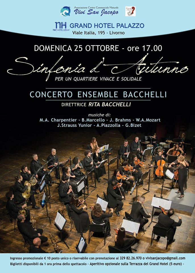 ensemble bacchelli concerto 25 ottobre hotel palazzo livorno