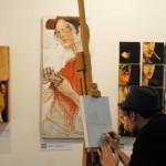 gli artisti de Il Melograno ad ArtePadova 2015 (7)