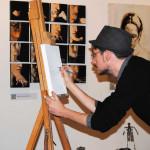 gli artisti de Il Melograno ad ArtePadova 2015 (8)