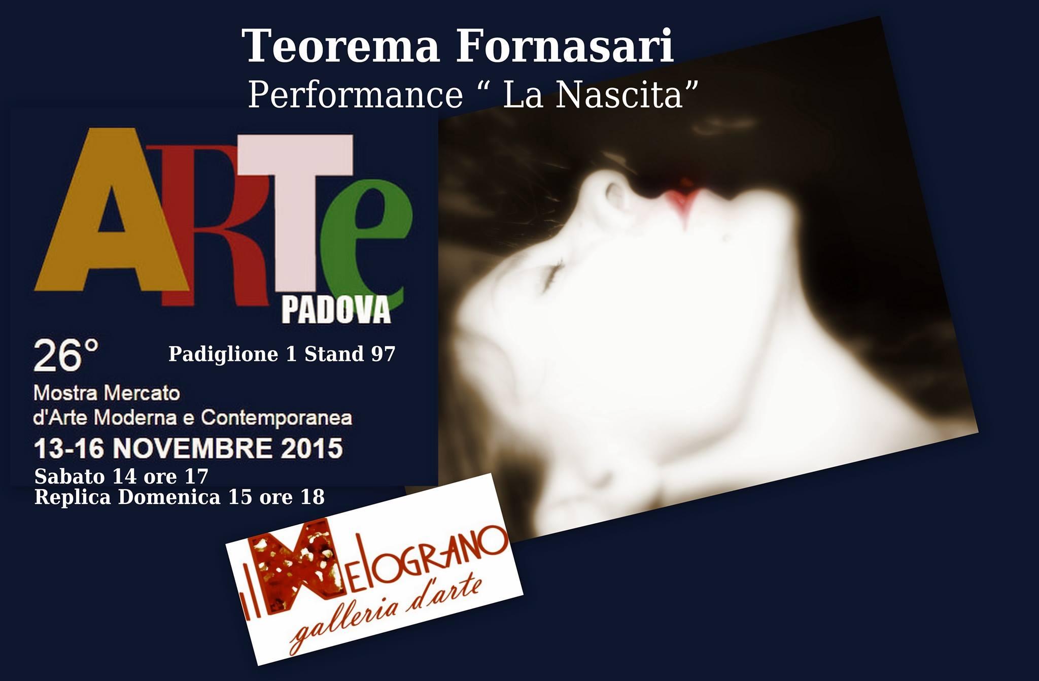 ArtePadova 2015 Teorema Fornasari