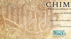 Aurore Lephilipponnat  Jean François Bouron  Trez – Chimera – Institut français Centre Saint Louis  Roma  26/11 – 10/12