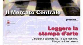Melania Vaiani e l'incisione al Mercato Centrale di Livorno