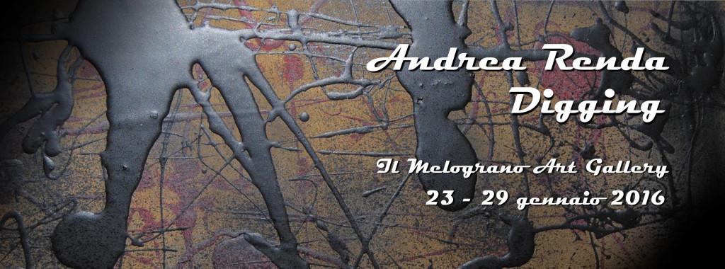 Andrea Renda Digging Il Melograno Art Gallery