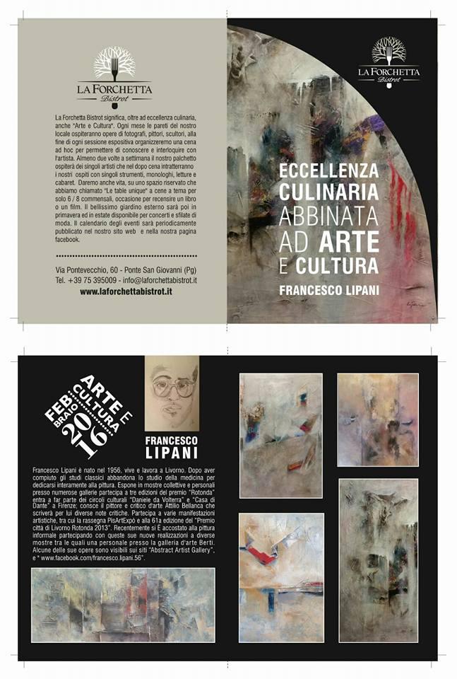 Francesco Lipani Perugia 2016 mostra