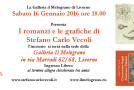 Stefano Carlo Vecoli – I romanzi e le grafiche alla galleria Il Melograno – Livorno – 16/01