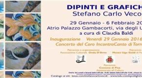 Stefano Carlo Vecoli –  Palazzo Gambacorti – Pisa – 29/01 – 06/02