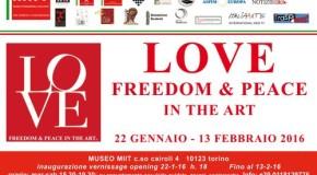 "Rachele Rachel Odello espone a Torino – ""Love Freedom & Peace in the Art"" – MIIT"