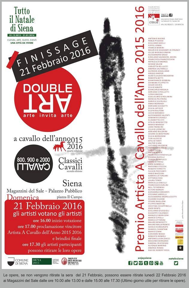 Premio a Cavallo dell'Anno 2015 2016 Siena