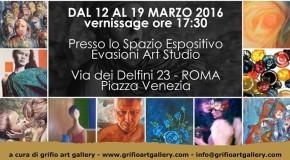 Elisabetta Ecca partecipa a  LiveArtRoma 2 – Grifio Art Gallery –  Roma – 12/03 – 19/03