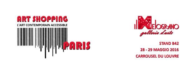 Art Shopping Paris 2016 – Il Melograno Art Gallery – Carrousel du Louvre – 27-29 maggio