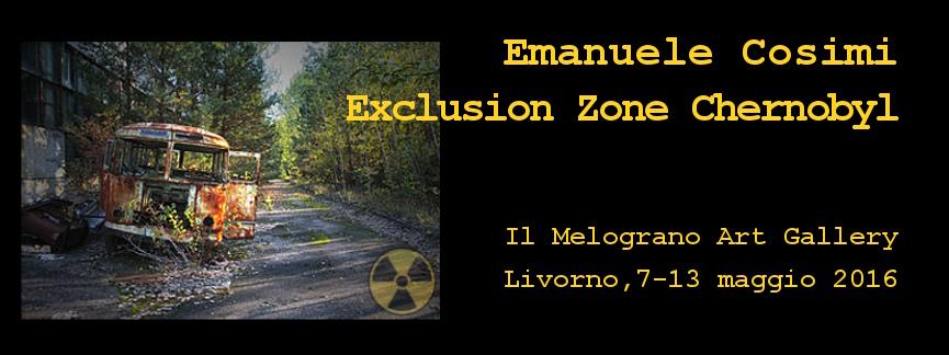Emanuele Cosimi Exclusion Zone Chernobyl Livorno