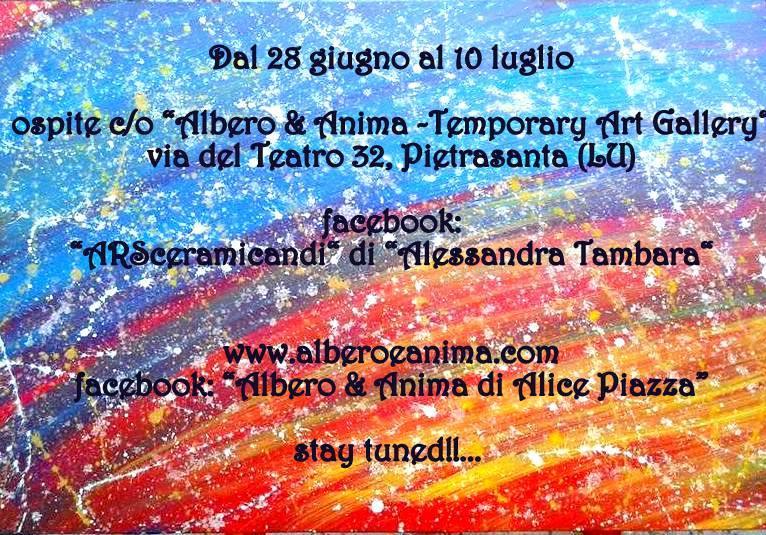 Alessandra Tambara Albero e Anima Pietrasanta Alice Piazza