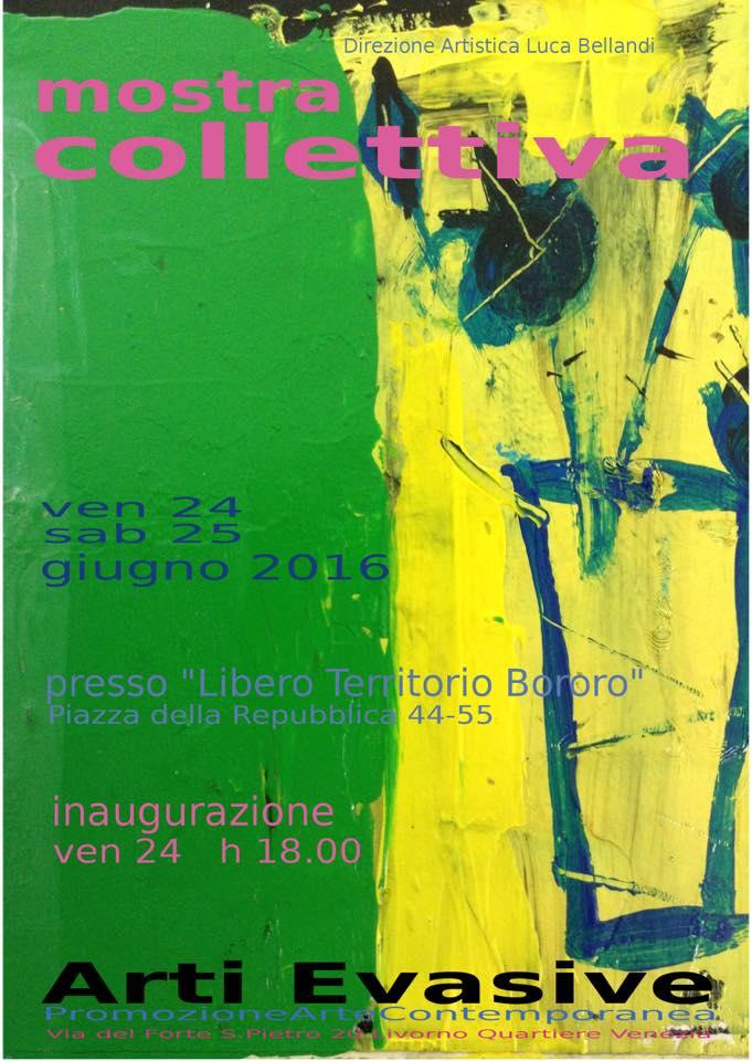 Arti Evasive mostra Territorio Bororo 2016 Art Director Luca Bellandi
