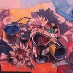 Ilio Fiorini -  Cardi e barattoli di vernice