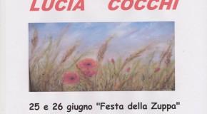 Lucia Cocchi – Fauglia – 25 e 26 giugno