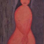 Renzo Giunti - Nudo seduto