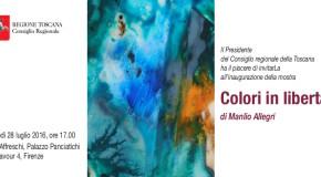 Manlio Allegri – Palazzo Panciatichi  – Firenze – 28/07 – 28/08