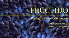 Fructidor – Rassegna d'arte contemporanea – Il Melograno Art Gallery – 03/09 – 15/09