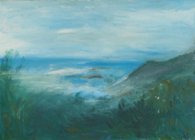 Lina Froglia Nel mare 50x70