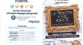 La mostra che non c'è – Artisti in strada – Trento – 24/09