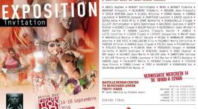 Figuration Critique – Le salon –  Bastille Design Center- Paris – 14/09 – 18/09