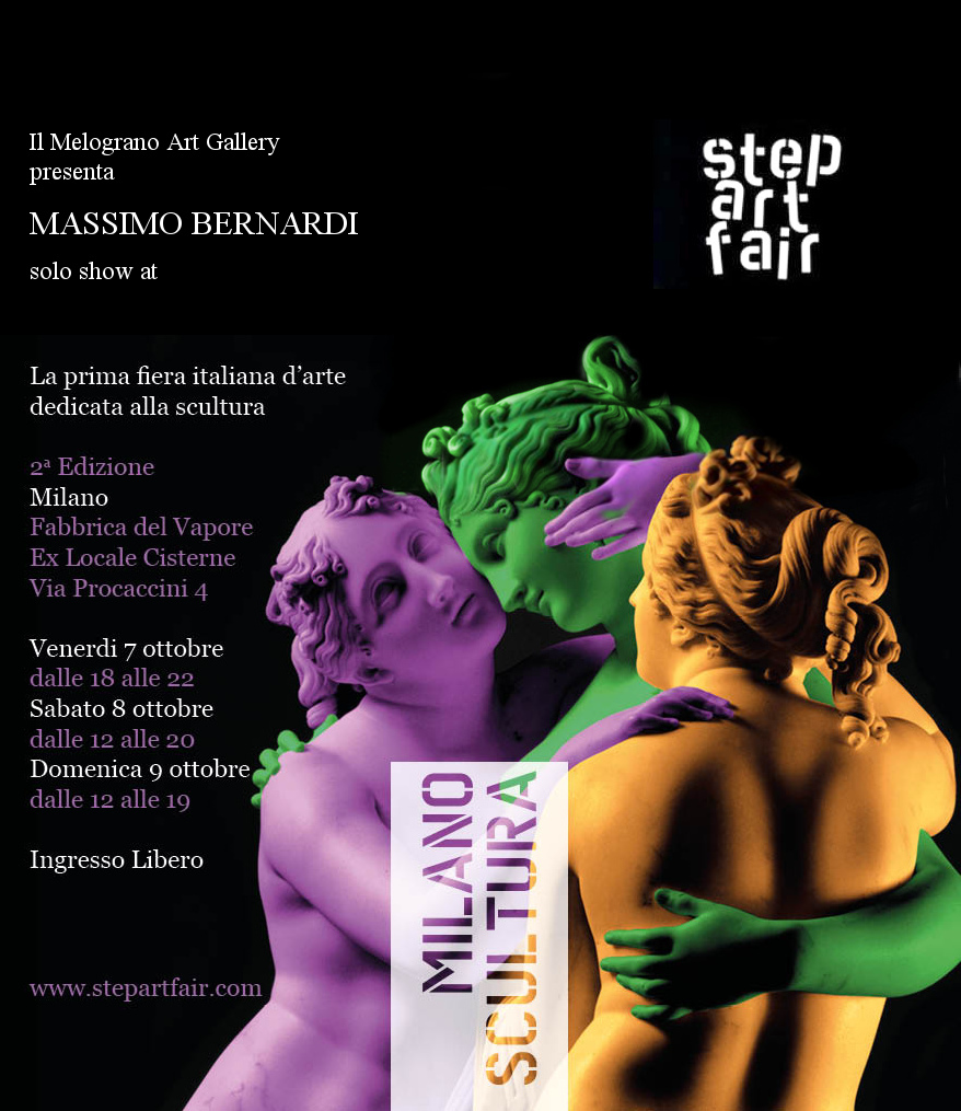 massimo-bernardi-step-art-fair-milano-scultura