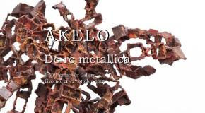 """AKELO –  """"De re metallica"""" – 21 ottobre"""