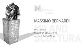 Massimo Bernardi a Milano Scultura