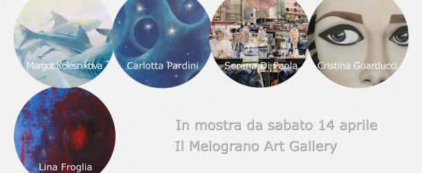 Serena Di Paola, Lina Froglia, Cristina Guarducci, Margot Kolesnikova, Carlotta Pardini